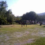 La Posada campground - empty during the week