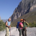 Day hike with Frank Sarat (left)