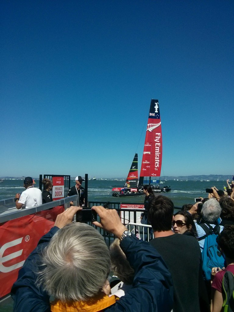 New Zealand's boat in America's Cup