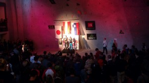 The winners of the World Sport Climbing Competition 2011, in Boulder, Colorado