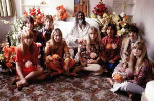 Turns out the Beatles, particularly George Harrison, were Hare Krishna followers.