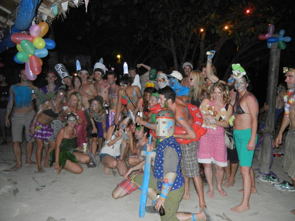 A Fairy Tale-themed costume party at Sa-waa-dee bar