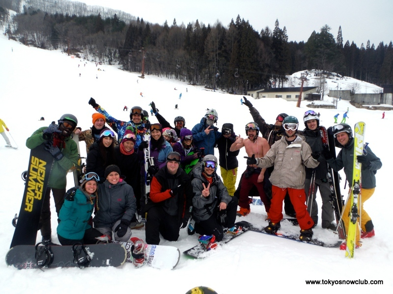 Crazy Crew of Foreigner Skiiers