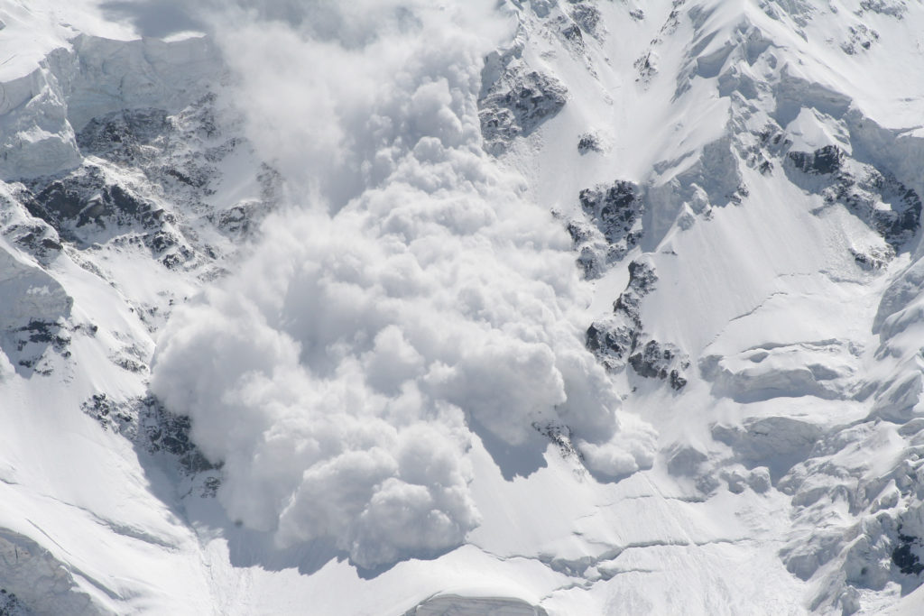 An example avalanche